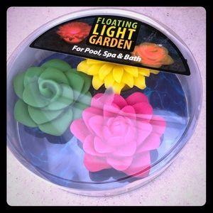 Aqua Glow floating light garden (3 pack)